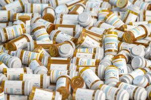 $650M in Pradaxa Blood Thinner Settlements, & More to Come photo of prescription bottles