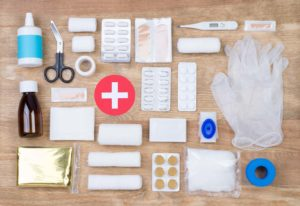 items to keep in a First aid kit in your car