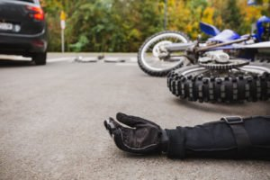 motorcycle accident lawyer photo of accident in richmond va